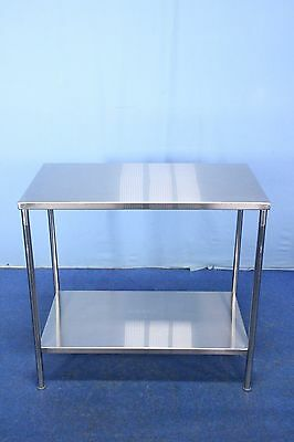 Medical Stainless Steel Back Table Instrument Table with Warranty