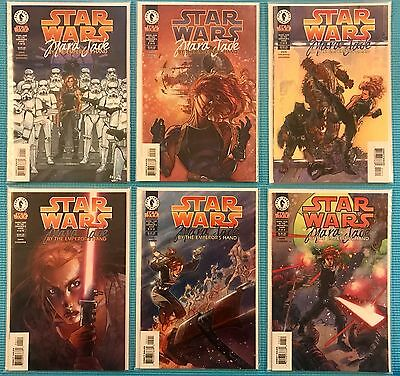 #  Star Wars: MARA JADE By the Emperor's Hand #1-6 COMPLETE Comic Set 1998 DH