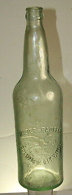 The Walter Raupfer Brewing Co Columbia City Ind Beer Bottle Large Quart