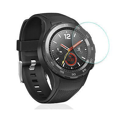 2PCS HD Clear Tempered Glass Screen Protector Film For Huawei Watch 2 2nd Gen