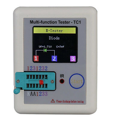 LCR-TC1 Colorful Display Multifunctional TFT graphic Backlight Transistor Tester