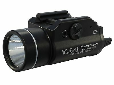 Streamlight TLR-1S Strobing Weapon Light LED Fits Picatinny Rails 69210