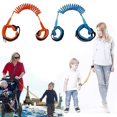 Kids Anti-lost Wrist Link Band Children Braclete Harness Safety Leash Strap New!