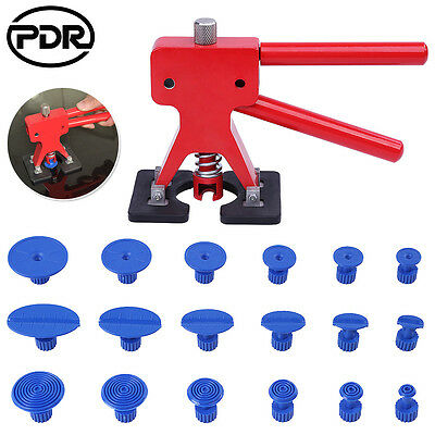 PDR 19x Dent Lifter Puller Tabs Paintless Dent Repair Removal Tools Hail Repair