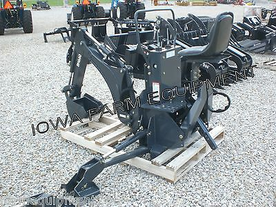 "'IFE' BH660 Curved Boom 3-Pt Backhoe,13""Bucket! EXCELLENT QUALITY & BEST BUY!"