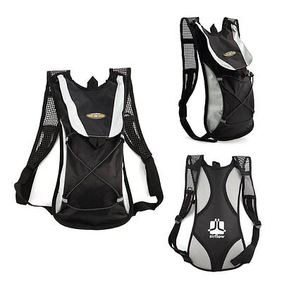 2L Water Bladder Bag Rucksack Cycling Sport Bag Backpack Pack Hiking Camping SH