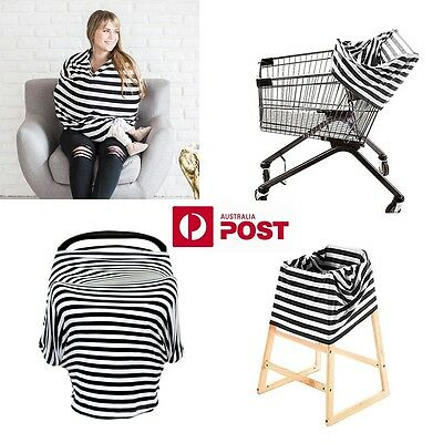 4-IN-1 Cover (Nursing, trolley, high chair and capsule - carseat cover)