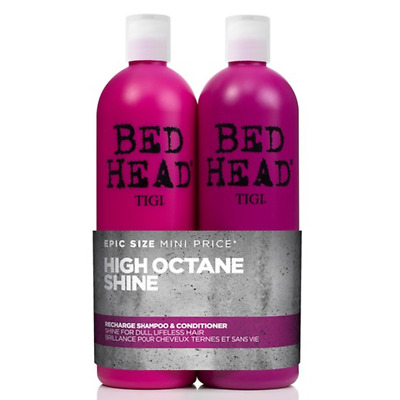 TIGI Kit Bed Head Recharge Shampoo+Balsamo 750ml PURIFICA CAPELLI