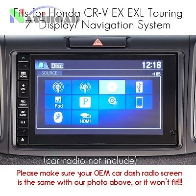 Screen Protective Film for Honda CR-V EX EXL Touring 7 inch Display Navigation