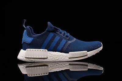 63d66a36bd565 Adidas NMD R1 Steel Blue White Size 10.5. S31502 ultra boost pk yeezy