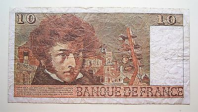 France... B.6-7-1978.B. ... 10 F Bank Note...Good used note
