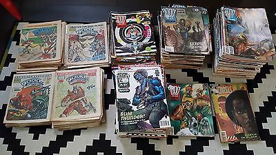 Job Lot - 400+ Issues Of 2000Ad