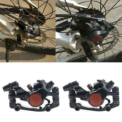 Bike Disc Brakes Front Rear Mechanical Caliper Road Mountain Bicycle Cycling New