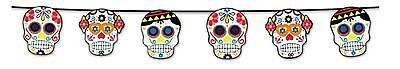 FANCY DRESS Halloween-Day Of The Dead Garland Decoration Accessory