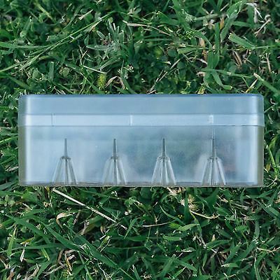 Transparent (Clear) 35mm Film Hard Case Box (Holds 10 Rolls)