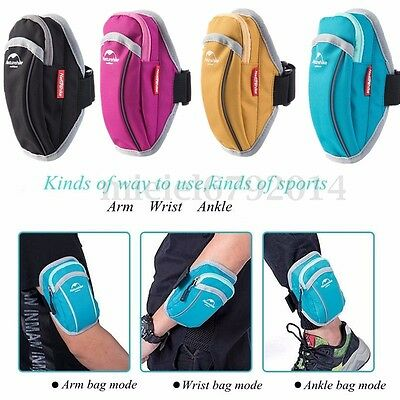 Sports Gym Arm Hand ArmBand Cell Mobile Phone Holder Bag Running Riding Jogging