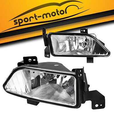 for 2006 2007 2008 Honda Pilot Clear Bumper Fog Lights Lamps w/ Bulbs Left+Right