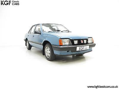 An Award Winning Vauxhall Cavalier Mk2 L 1600S with Just 25,619 Miles