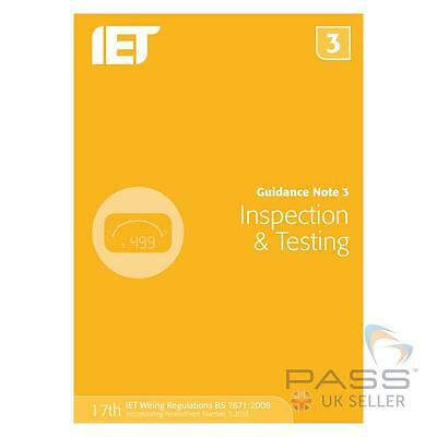 *NEW* IET Guidance Note 3: Inspection & Testing, 7th Edition / UK Stock