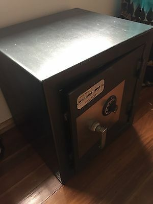 Original Antique William Lord Master Built Safe