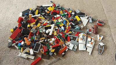 Genuine Lego Mixed Job Lot Some Star Wars Parts Over 1Kg 1 Kilo 1000 Grms