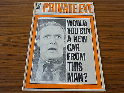 Private Eye Magazine: No.349: 2nd May 1975: Would You Buy New Car From This Man?