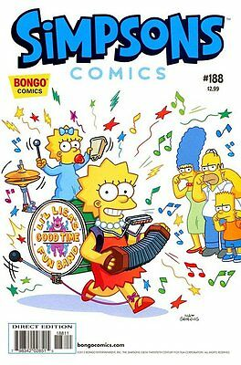 Simpsons Comics # 188 Near Mint (NM) Bongo Comics MODERN AGE