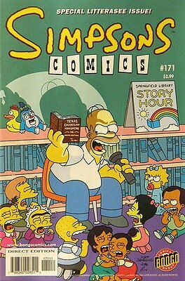 Simpsons Comics # 171 Near Mint (NM) Bongo Comics MODERN AGE