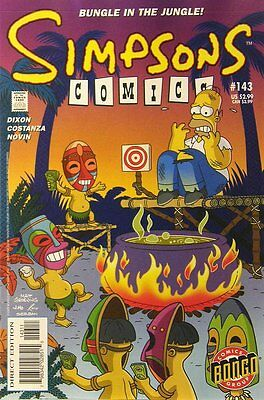 Simpsons Comics # 143 Near Mint (NM) Bongo Comics MODERN AGE