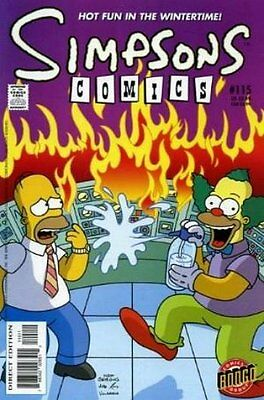 Simpsons Comics # 115 Near Mint (NM) Bongo Comics MODERN AGE