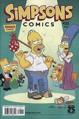 Simpsons Comics # 213 Near Mint (NM) Bongo Comics MODERN AGE