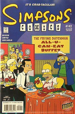 Simpsons Comics # 142 Near Mint (NM) Bongo Comics MODERN AGE