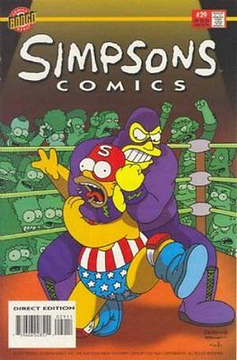 Simpsons Comics #  29 Near Mint (NM) Bongo Comics MODERN AGE