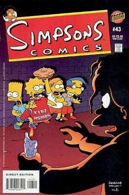 Simpsons Comics #  43 Near Mint (NM) Bongo Comics MODERN AGE