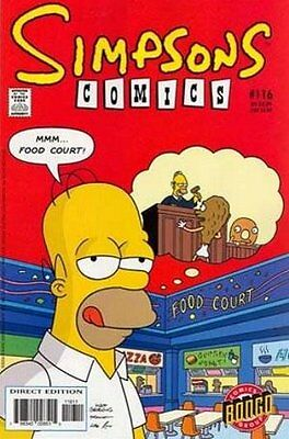 Simpsons Comics # 116 Near Mint (NM) Bongo Comics MODERN AGE
