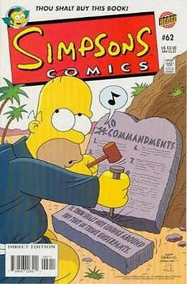 Simpsons Comics #  62 Near Mint (NM) Bongo Comics MODERN AGE