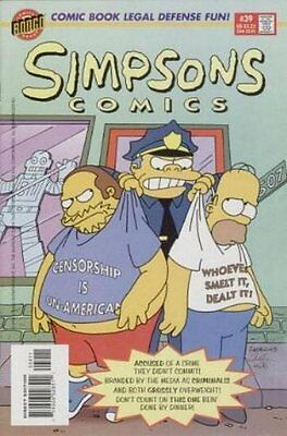 Simpsons Comics #  39 Near Mint (NM) Bongo Comics MODERN AGE