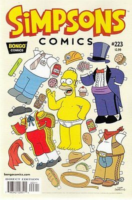 Simpsons Comics # 223 Near Mint (NM) Bongo Comics MODERN AGE