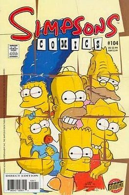Simpsons Comics # 104 Near Mint (NM) Bongo Comics MODERN AGE