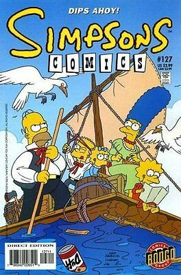 Simpsons Comics # 127 Near Mint (NM) Bongo Comics MODERN AGE