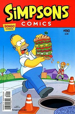 Simpsons Comics # 190 Near Mint (NM) Bongo Comics MODERN AGE