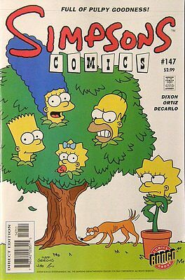 Simpsons Comics # 147 Near Mint (NM) Bongo Comics MODERN AGE