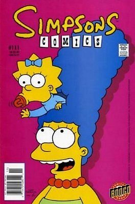 Simpsons Comics # 111 Near Mint (NM) Bongo Comics MODERN AGE