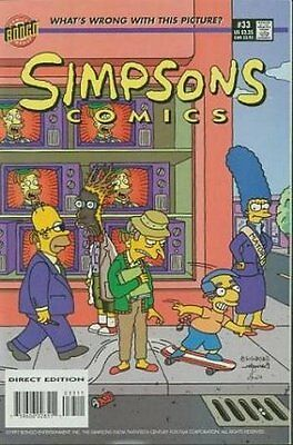 Simpsons Comics #  33 Near Mint (NM) Bongo Comics MODERN AGE