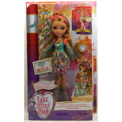 Ever After High - Ashlynn Ella Doll Mattel CJT36 CE Marked 6 Yrs+ NEW