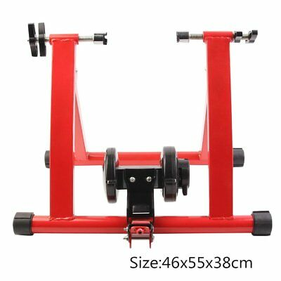 Upgrade New Turbo Trainer Magnetic Indoor Bike Trainer for Road/Mountain Bicycle