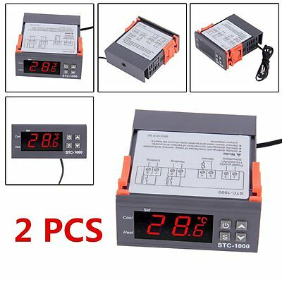 STC-1000 Temperature Controller Thermostat auto heating & cooling Aquariumew SY