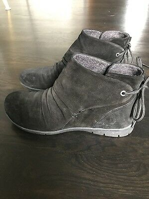 b.o.c. By Born Women's Booties Size 11 Black Excellent