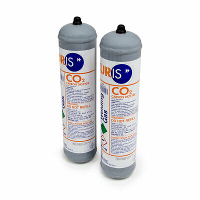 Pack of 2 Wolf gas cylinders for MIG welders Co2 Bottle