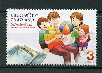 Thailand 2017 MNH National Children's Childrens Day 1v Set Stamps